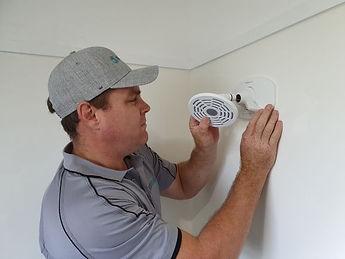 Interior repair and installation of a bathroom