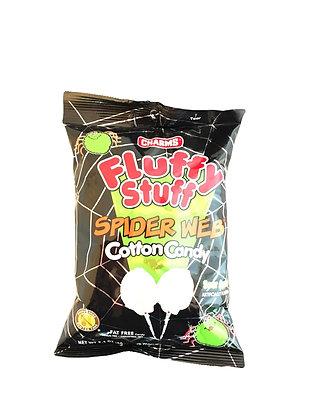 Sour Apple Spider Web Cotton Candy