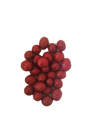 Candy Coated Chocolate Raspberries (100 gr)