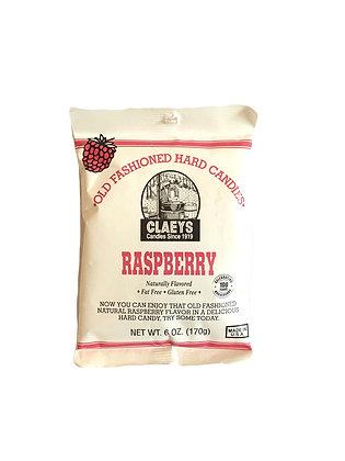 Claeys Raspberry Hard Candy (170 gr bag)