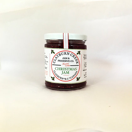Clayburn Creek Jam Co.   Fraser Valley Christmas Jam (9 oz jar)