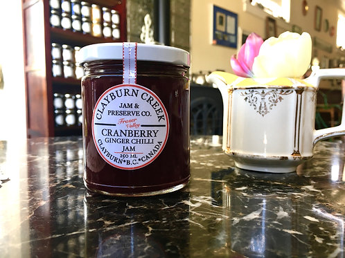 Clayburn Creek Cranberry Ginger and Chilli Jam