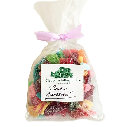 Clayburn Sour Candy Assortment  (200 gr)