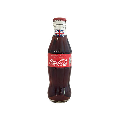 Coca Cola in a glass bottle (Half sized)