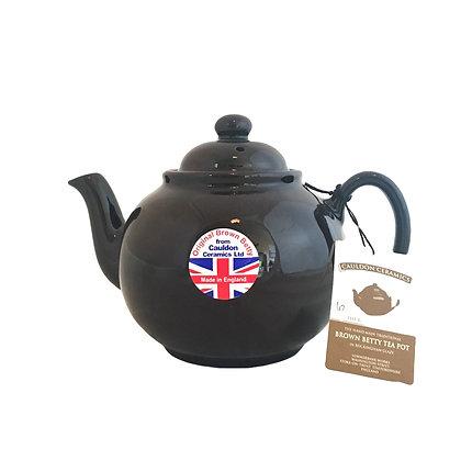 Original Brown Betty Tea Pot ( 6 cup)