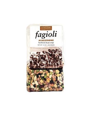 Fagioli Minestrone-Heirloom Bean Soup