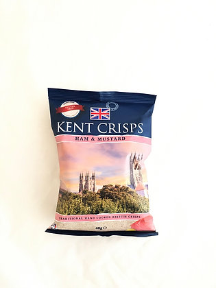 Kent Crisps: Ham and Mustard