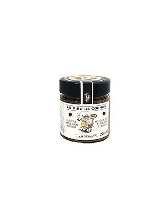 Au Pied De Cochon Old Style Maple Dijon Mustard