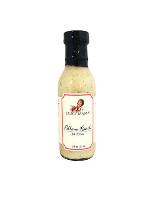 Saucy Mama Poblano Ranch Dressing