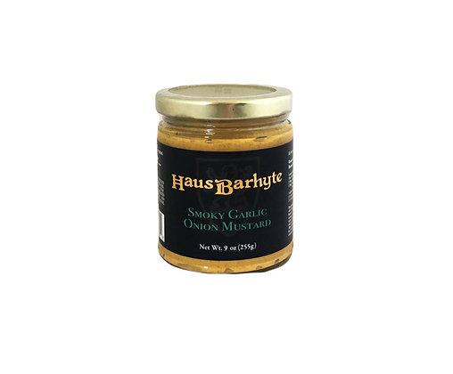 Haus Barhyte Smoky Garlic Onion Mustard
