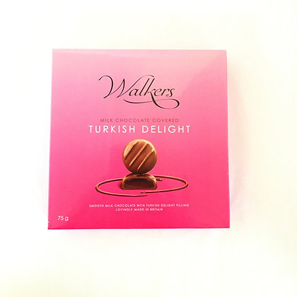 Walkers Chocolate Covered Turkish Delight Box 🇬🇧( 75 grams)