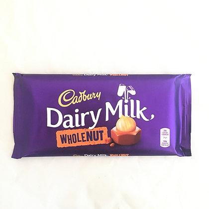 Cadbury 🇬🇧 Dairy Milk  Wholenut (200 gr)