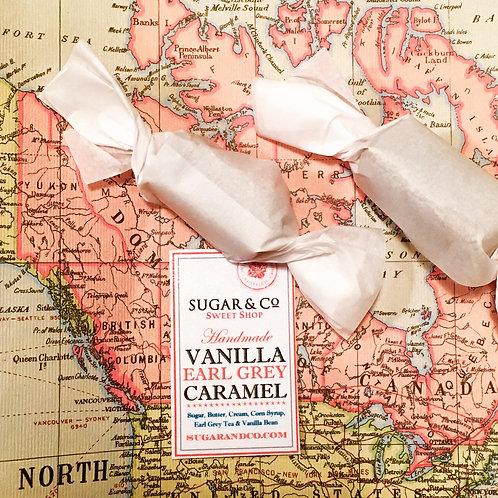 Vanilla Earl Grey Caramels