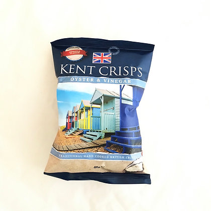 Kent Crisps: Oyster and Vinegar