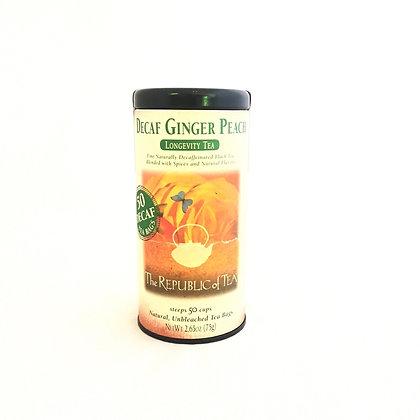 Decaf Ginger Peach Longevity Tea
