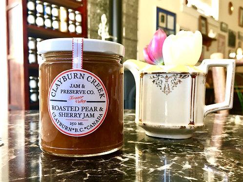Clayburn Creek Roasted Pear and Sherry Jam
