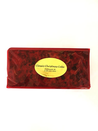 Classic Christmas Cake (2 pounds in weight)