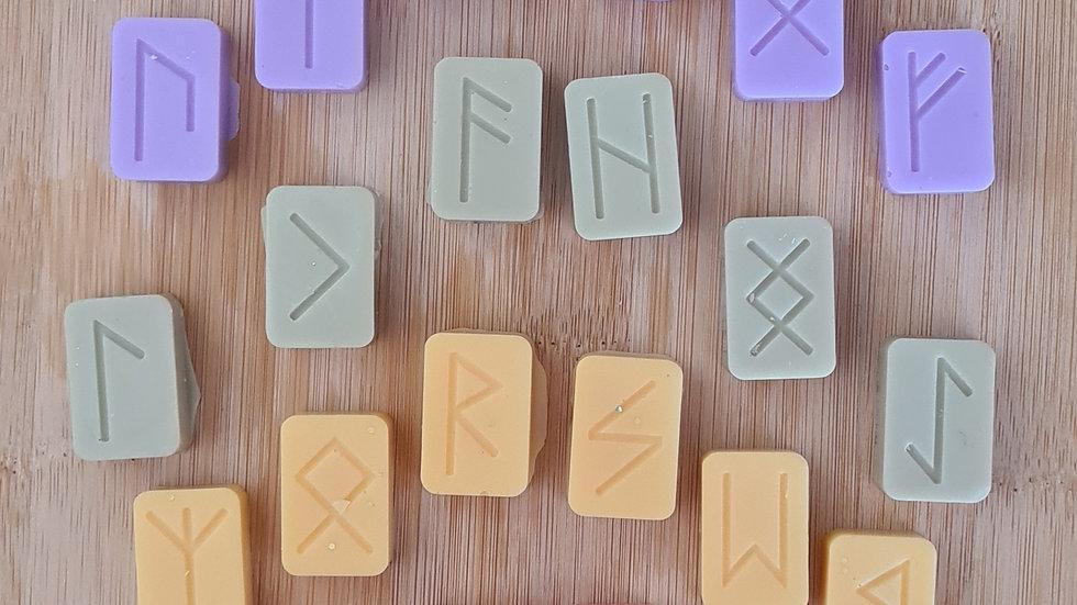 Soya Wax Melt Rune Set