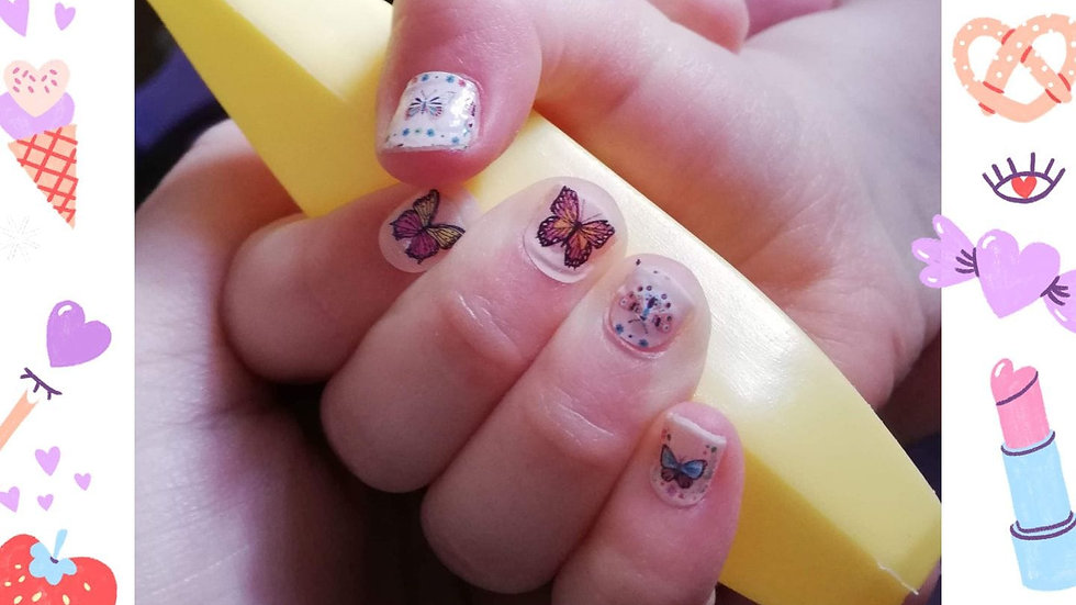 Butterflies for Little Llamas