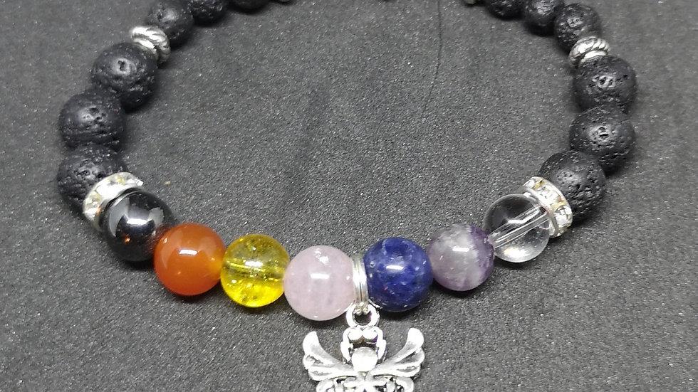 Aromatherapy Chakra Angel Bracelet