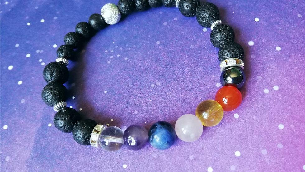 Aromatherapy Chakra Bead Bracelet