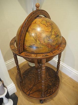 Vintage Drinks Globe