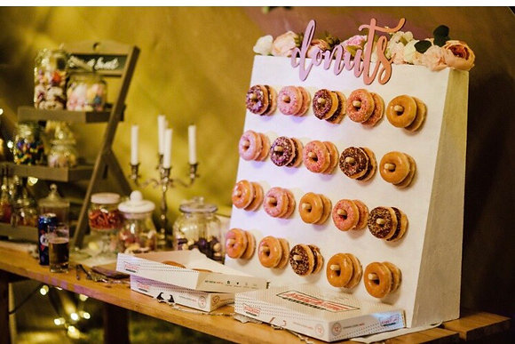 Floral Donut Wall
