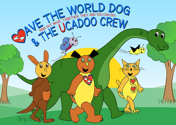 Save the World Dog and the Ucadoo Crew (