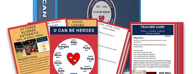 U Can Be Heroes Grades 7-8 Mini Kit