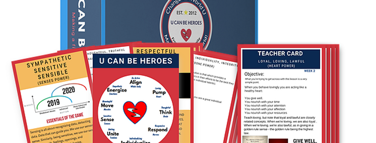 U Can Be Heroes Grades 5-6 Mini Kit