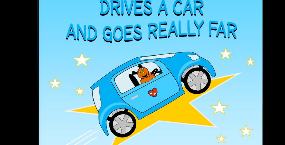 Dog Drives a Car