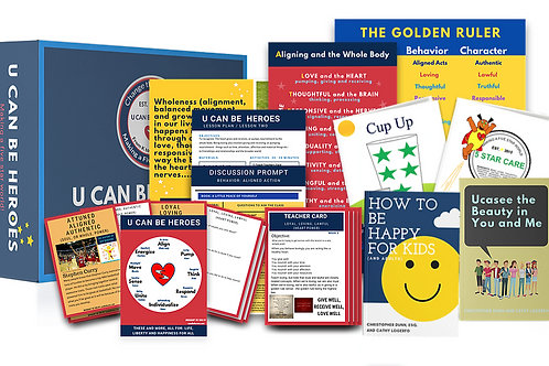 U Can Be Heroes Grades 7-8 Complete Kit