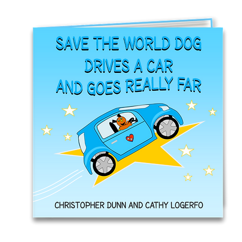 Save the World Dog Drives a Car and Goes Really Far