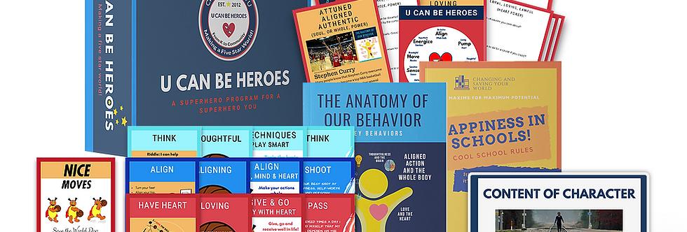 The U Can Be Heroes Basketball Supreme Kit