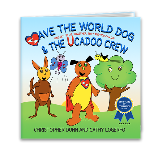 Save the World Dog and the Ucadoo Crew