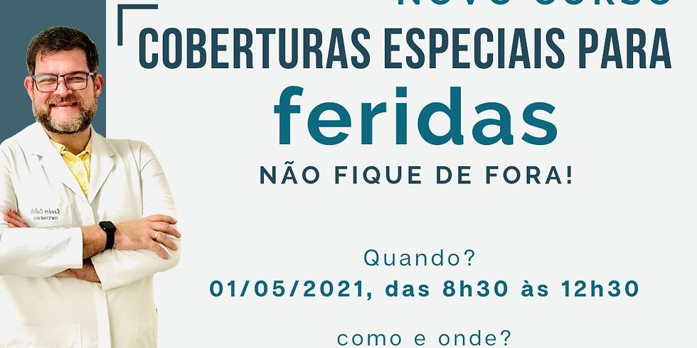 CURSO DE COBERTURAS ESPECIAIS PARA FERIDAS
