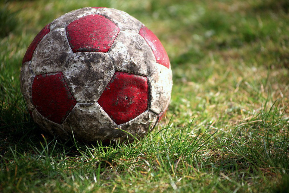 Old Fashioned Soccer Ball