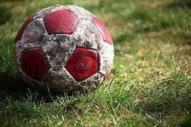 Ballon de football à l'ancienne