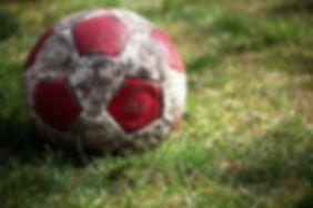 Altmodischer Fußball-Spielball