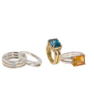 Orient square set rings