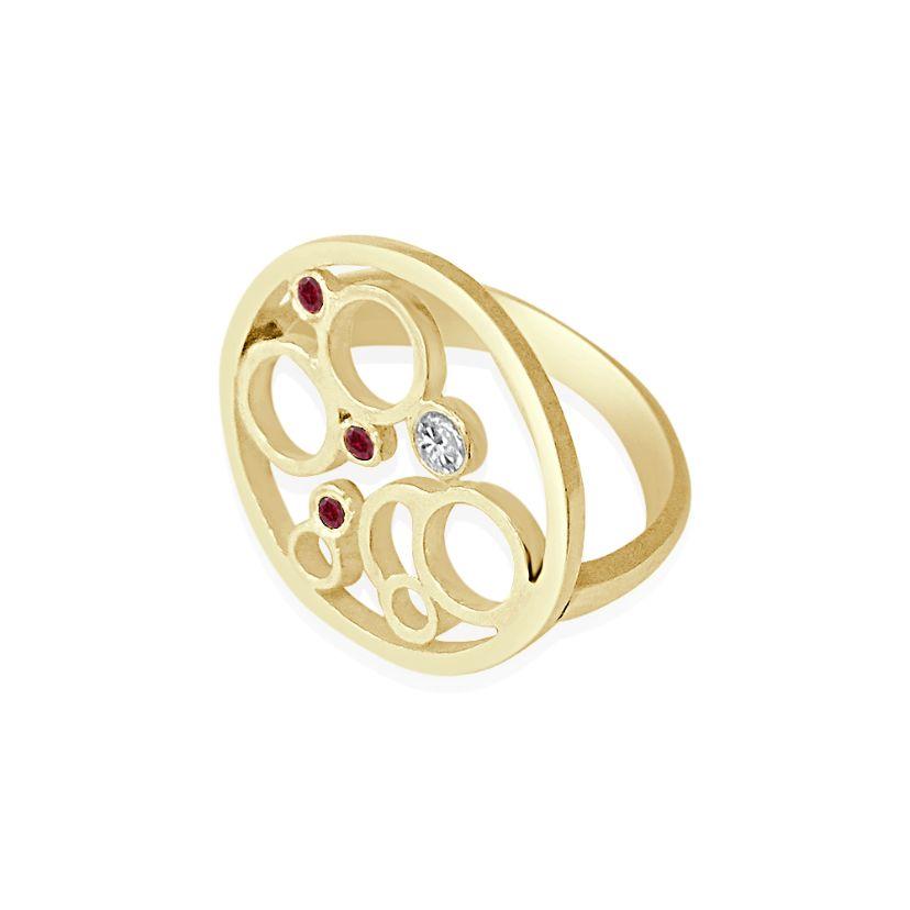 ruby moon ring