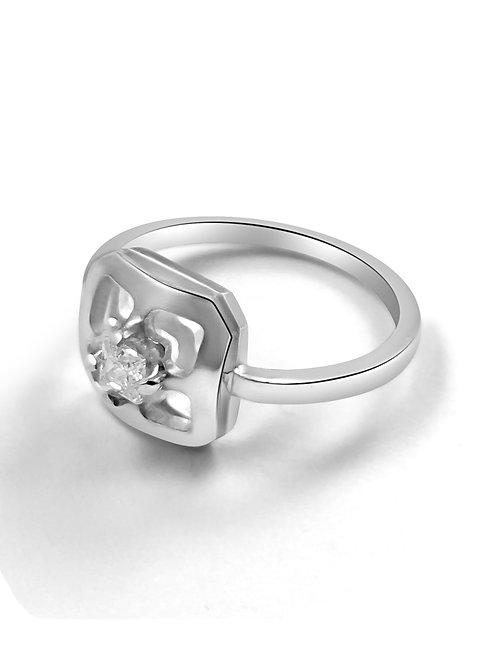 Orient square dress ring