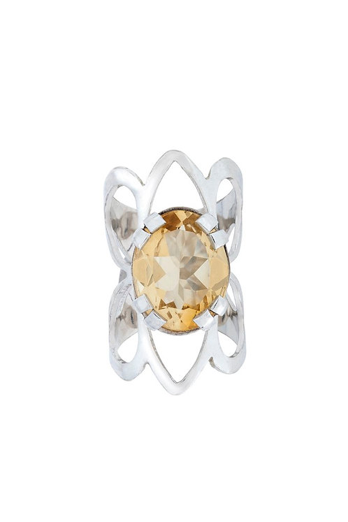 CROWN IN THE BUTTERFLY RING
