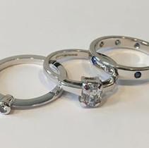 CHAR RINGS Sapphires