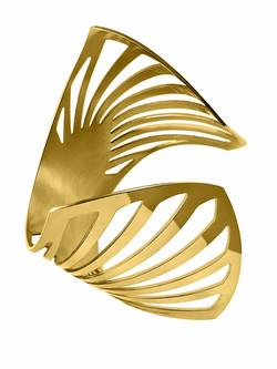 gold deco cuff