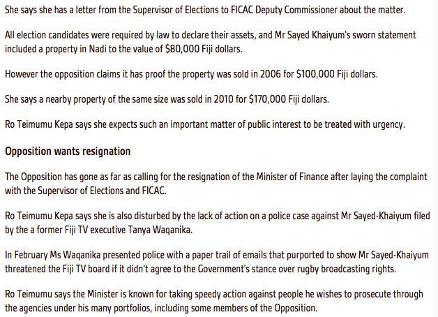 Opposition Complaint 2