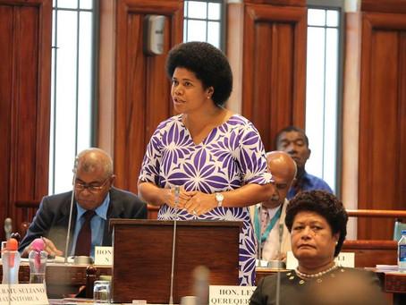 Maiden Speech of Hon. Lenora Qereqeretabua – Parliament of Fiji
