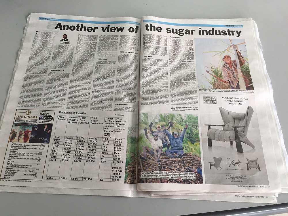 FT feature - another view of the sugar industry