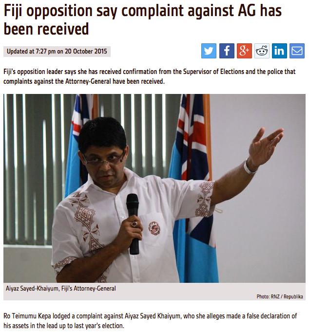 Opposition Complaint 1