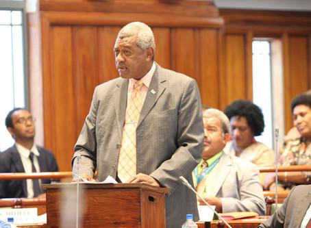 Maiden Speech of President of NFP, Hon. Pio Tikoduadua – Parliament of Fiji